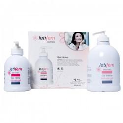 Letifem woman higiene íntima duplo 250 ml + 250 ml