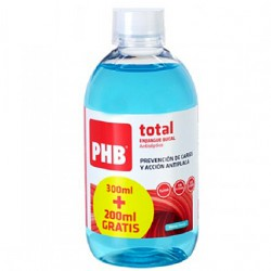 Phb total enjuague bucal 200ml+300ml