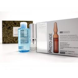 Martiderm caja Premium Photo Age 30 ampollas+Platinum Expression contorno de ojos 15ml+solución micelar 75ml