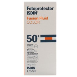 FOTOPROTECTOR ISDIN 50+ FUSION FLUID COLOR 50ML