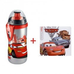 NUK BIBERON JUNIOR CUP CARS 300ML + CUENTO