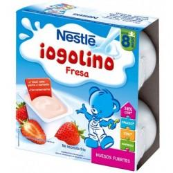 NESTLÉ YOGURT IOGOLINO FRESA 4 X 100 GR
