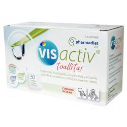 Pharmadiet vis activ toallitas 30 unidades