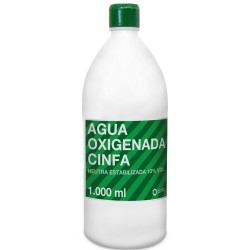 CINFA AGUA OXIGENADA 10 VOL 1000 ML
