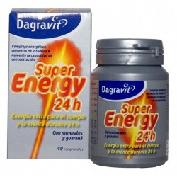 DAGRAVIT SUPER ENERGY 24 HORAS 40 COMPRIMIDOS