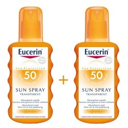 EUCERIN SOLAR SUN SPRAY TRANSPARENTE SPF50 200ML 2UND