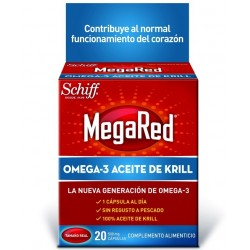 Megared 500mg 20 cápsulas