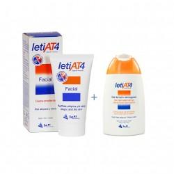 LETI AT-4 PACK CREMA FACIAL 50ML+ GEL BAÑO 100ML