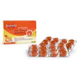 Juanola propolis miel altea vitamina C 24 pastillas