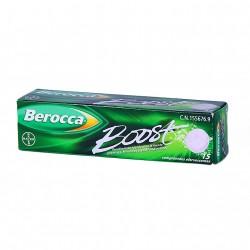 BEROCCA BOOST 15 COMPRIMIDOS EFERVESCENTE.