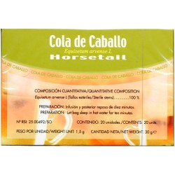 Soria Natural cola de caballo infusión 20 unidades
