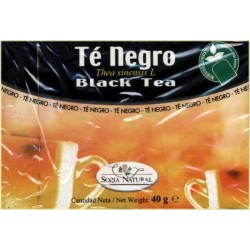 Soria Natural té negro infusión 20 unidades