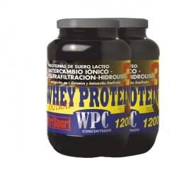 NUTRISPORT WHEY PROTEIN 3 WPC FRESA 1200 GR