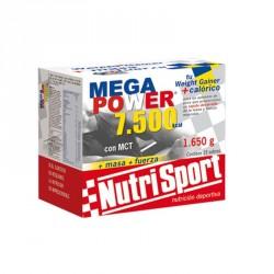 NUTRISPORT MEGAPOWER 7.500 KCAL BATIDOS 15 SOBRES