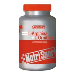 NUTRISPORT L-ARGININA + L-ORNITINA 100 CÁPSULAS