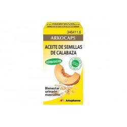 Arkocaps calabaza aceite de semillas 50 cápsulas