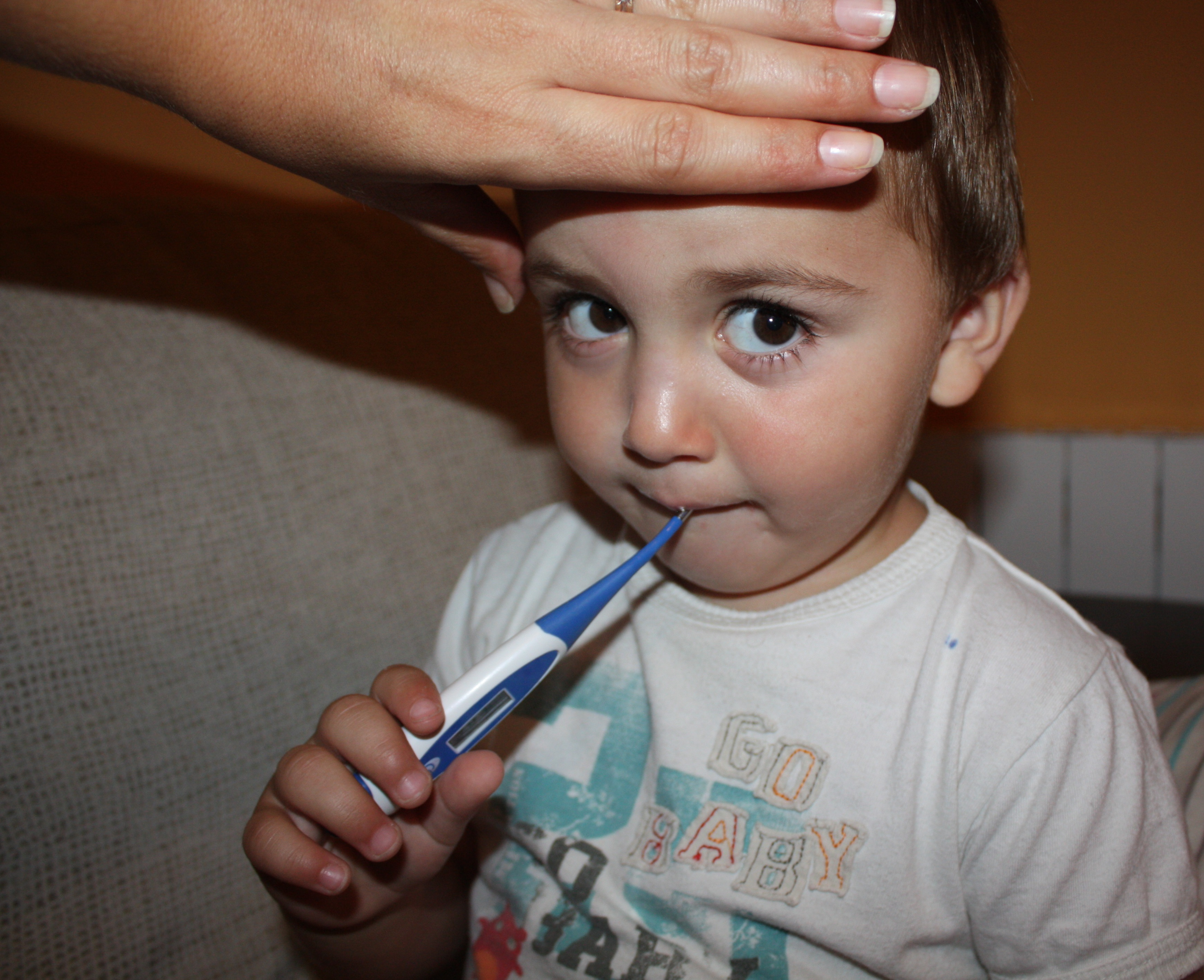 Baño En Ninos Con Fiebre:Fiebre en Niños – Consejos