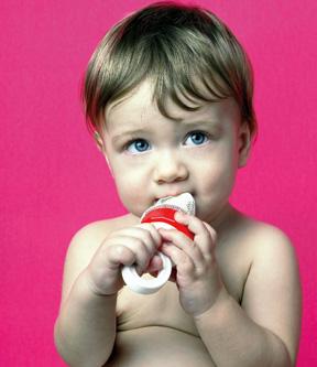 Mallas para frutas, el deleite del bebé