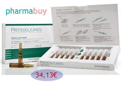 Proteoglinacos Martiderm, productos Martiderm