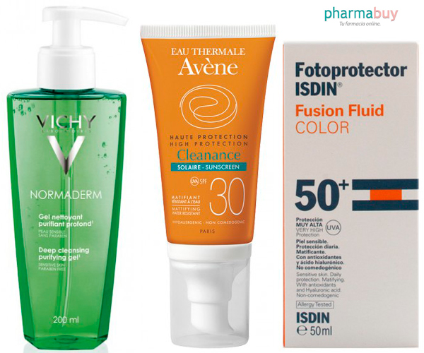 productos rutina para piel grasa