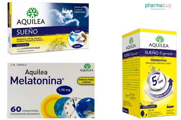 melatonina para conciliar el sueño