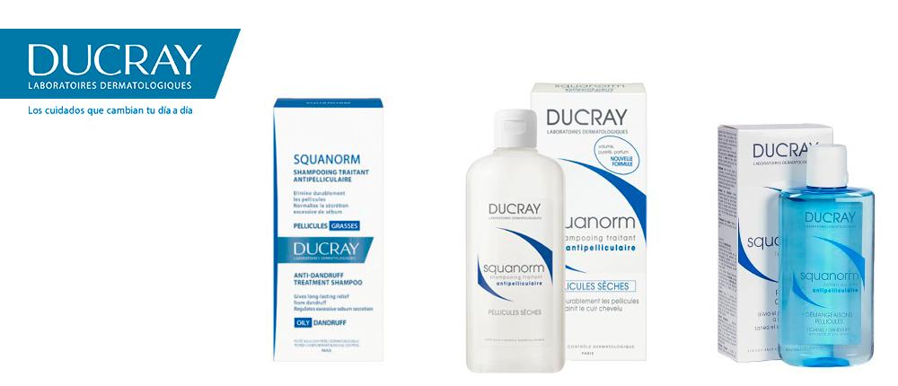 Ducray Squanorm, nueva línea de champús anticaspa