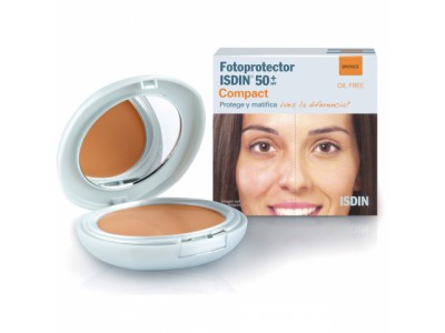 Isdin Fotoprotector Compact Oil Free Bronce SPF50 10g