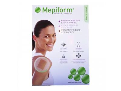 Mepiform silicona reductor cicatrices 5x7.5cm 5 unidades