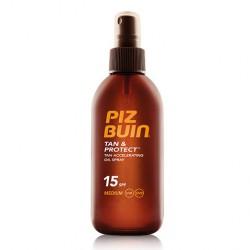 Piz Buin Tan&Protect Aceite Spray Acelerador SPF15 150ml