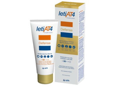 Leti At4 Defense Barrera Reparadora SPF50 100ml