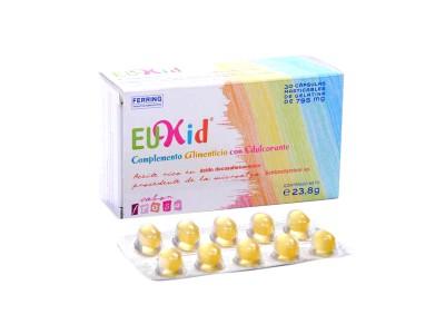 Eukid 30 Cápsulas Masticables Sabor Limón