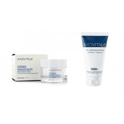 Axovital Crema Hidratante Piel Normal 50ml + Gel Limpiador Facial 150ml