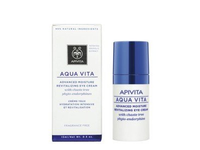 Apivita Aqua Vita Crema Ojos Hidratante Revitalizante 15ml