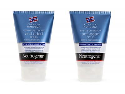 Neutrogena Crema Manos Antiedad SPF25 50ml 2 uds.