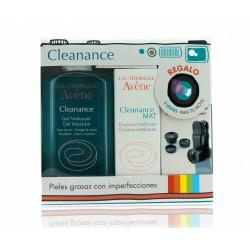 Avene Pack Cleanance Mat 40ml + Gel Limpiador 200ml + 3 Lentes para el Móvil