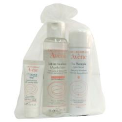 Avene Pack Cuidados Esenciales Agua Micelar 100ml + Agua Termal 50ml + Hydrance Optimale 15ml