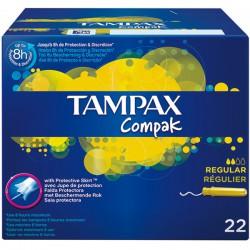 Tampax Compak Tampon Regular 22 uds.