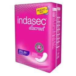 Indasec Discreet Extra 20 uds.