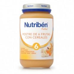 Nutriben Postre 6 Frutas con Cereales 250g