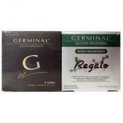 Germinal Pack Acción Inmediata 5 Ampollas + Ácido Hialurónico 5 Ampollas