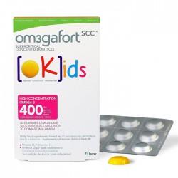 Om3Gafort Okids 30 Gominolas Lima-Limón