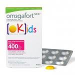 Om3gafort kids 30 gominolas lima-limón