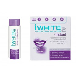 iWhite Pack Instant 2 Blanqueador Dental 10 Moldes + Regalo Colutorio 500ml
