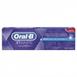 Oral-B 3D White Luxe Brillo Saludable Pasta 75ml