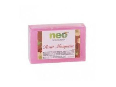 Neo Dermojabón Rosa Mosqueta Pastilla 100g