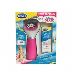 Scholl Velvet Smooth Pack Lima Rosa + Serum Intensivo