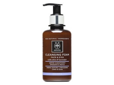 Apivita Cleansing Crema Espuma Cara y Ojos 200ml