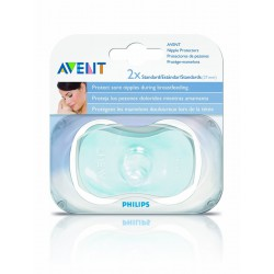 Philips Avent Pezoneras Silicona Estandar 21mm. 2 uds.