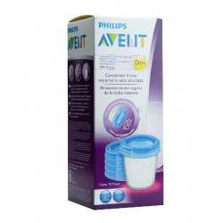 Philips Avent Recipiente Antiderrame 180ml 5 uds.