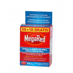 Megared 500mg 30 Cápsulas + 10 Gratis